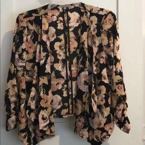 Medium Charlotte Russe floral blazer